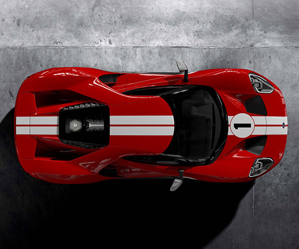 Ford GT '67 Heritage Edition Pays Tribute to Le Mans Winner