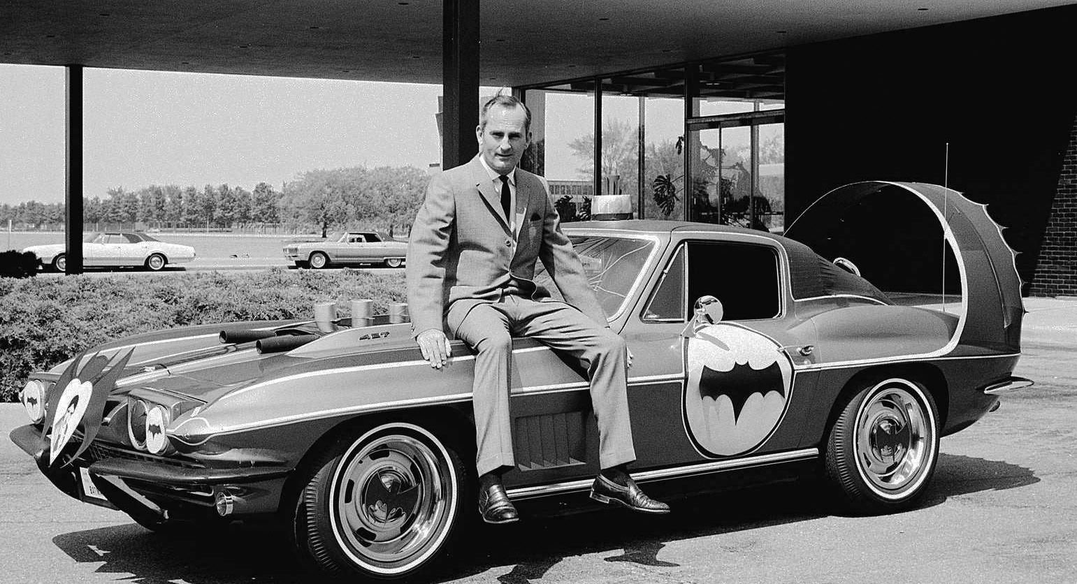 That Time Chevy Made a Batmobile Corvette
