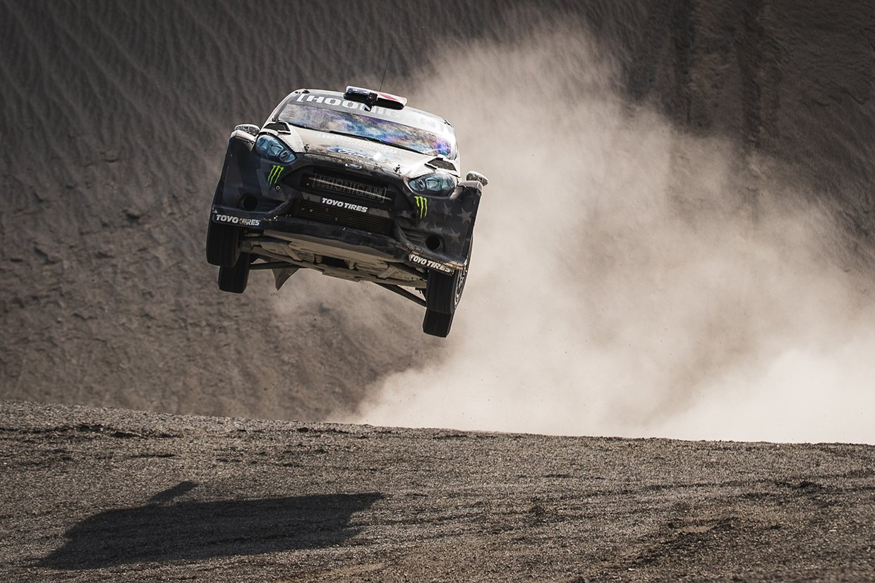 "Ken Block Tears up the Desert in Pennzoil's ""Terrakhana"""