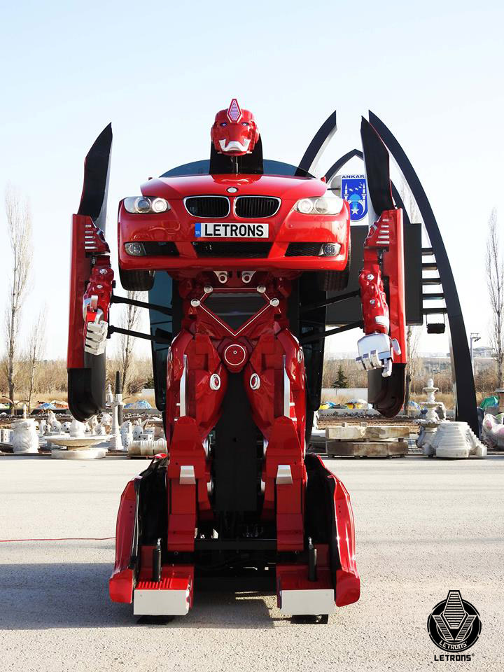 Working BMW Transformer: Robots in Disguise