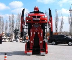 Working BMW Transformer: Robots in Disguise