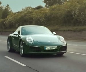 Millionth Porsche 911 Goes for Its First Ride