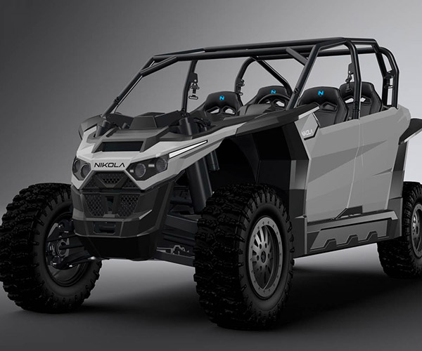 Nikola Zero Electric UTV Packs Up to 555 hp