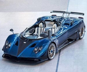 Pagani Zonda HP Barchetta Is a 3-of-a-Kind Beast for Billionaires