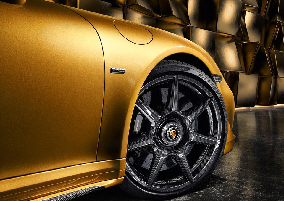Porsche Offers up First Braided Carbon Fiber Wheels