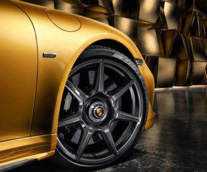 Porsche Offers up First Braided Carbon Fiber Wheels