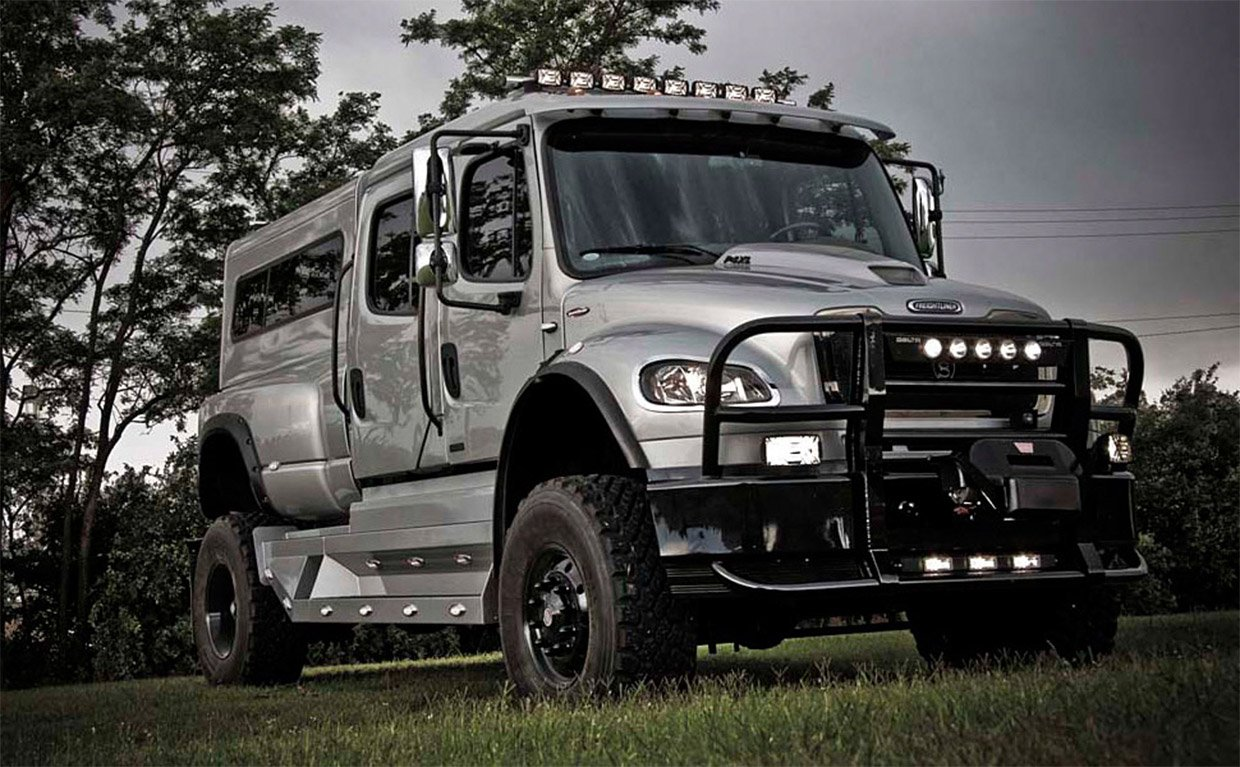 SportChassis P4-XL is a Luxury Sport Utility Truck