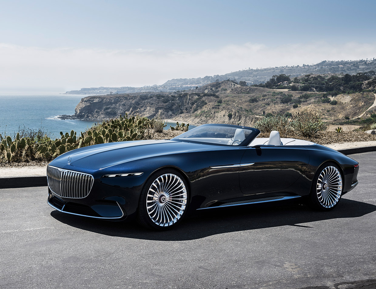 vision mercedes maybach 6 cabriolet is a real land shark 95 octane. Black Bedroom Furniture Sets. Home Design Ideas