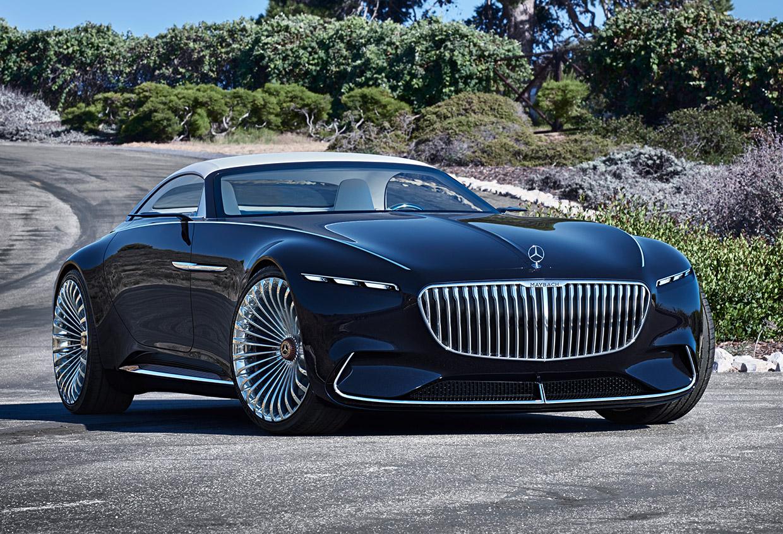 vision mercedes maybach 6 cabriolet is a real land shark. Black Bedroom Furniture Sets. Home Design Ideas