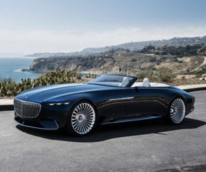 Vision Mercedes-Maybach 6 Cabriolet Is a Real Land Shark