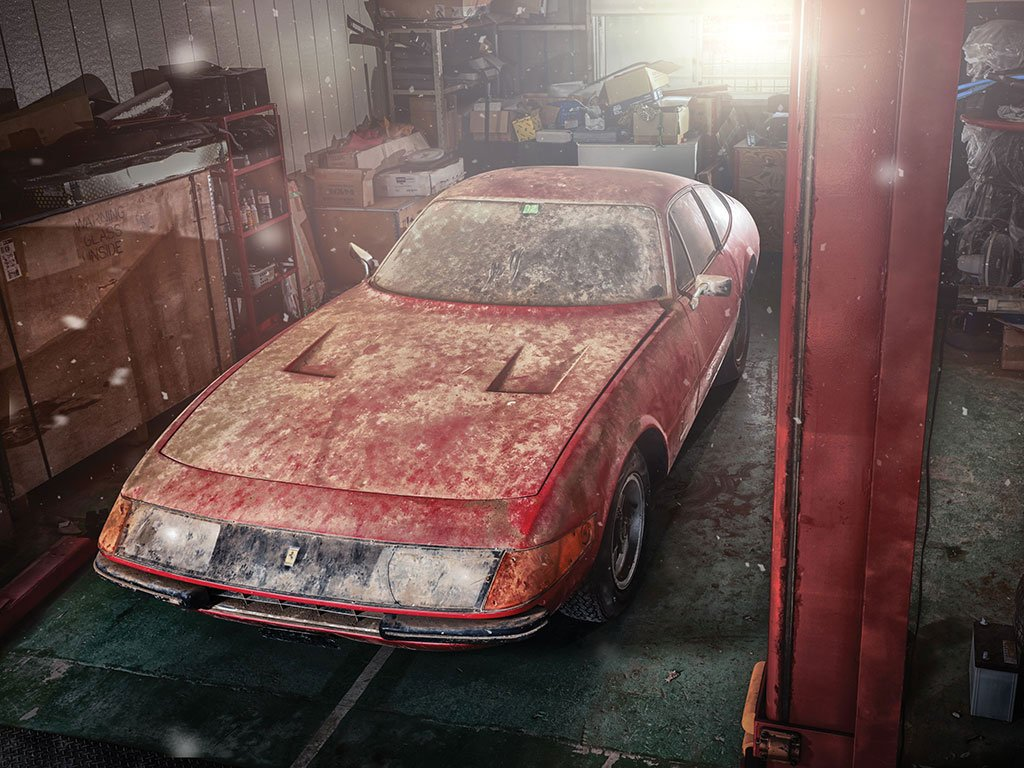 "One-of-a-kind Aluminum 1969 Ferrari ""Daytona"" for Sale"