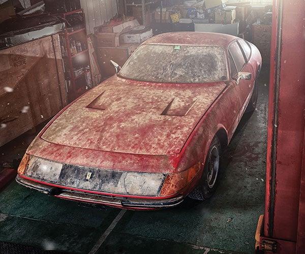"One-of-a-kind Aluminum 1969 Ferrari ""Daytona"" for Sale"