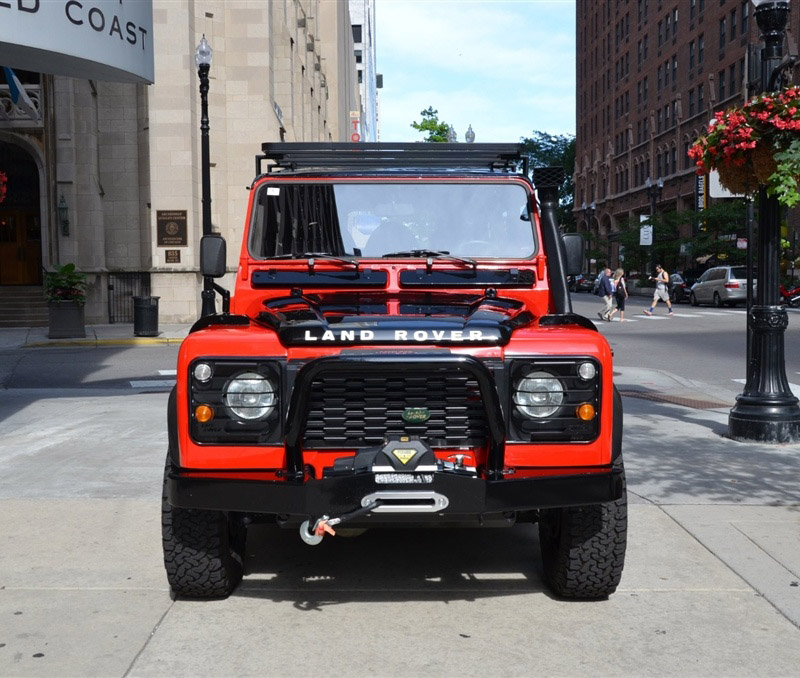 Tricked-out 1990 Land Rover Defender 110 for Sale - 95 Octane