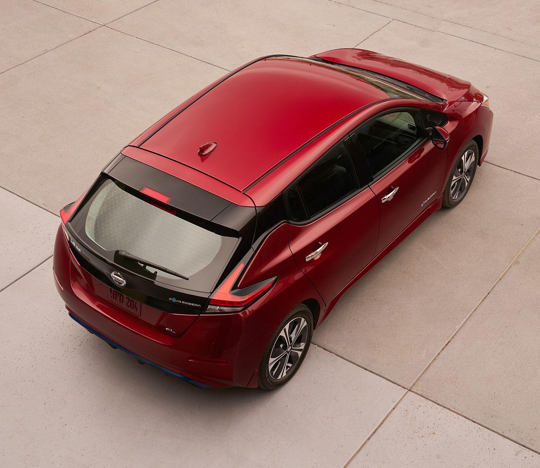 2018 nissan leaf ev gets new look  more power  u0026 range