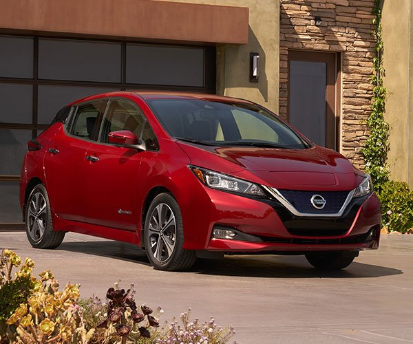 2018 Nissan LEAF EV Gets New Look, More Power & Range