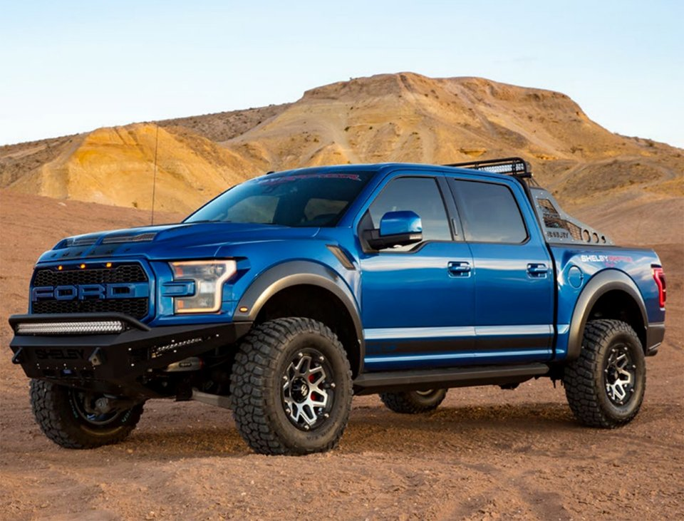 2018 shelby raptor gives the angry truck another 75 horses