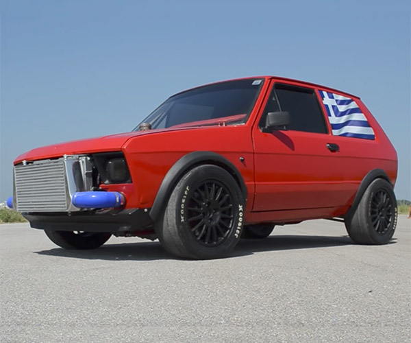 This Engine-swapped Yugo Is Faster than a Ford GT