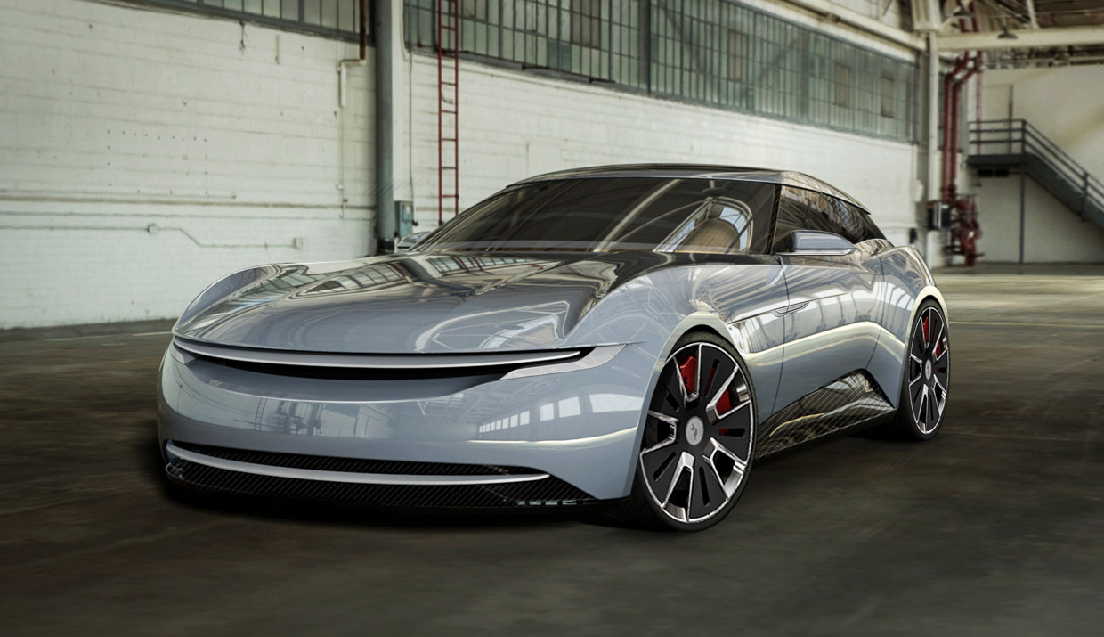 The Alcraft GT Is a Crowdfunded Electric Shooting Brake