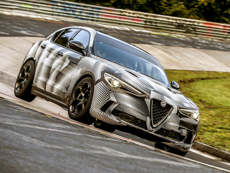 Alfa Romeo Stelvio Quadrifoglio Takes Nürburgring SUV Crown