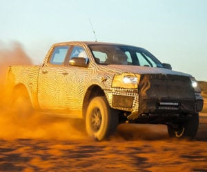 2018 Ford Ranger Raptor Surfaces Down Under