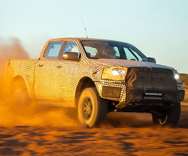 2018 Ford Ranger Raptor Surfaces Down Under