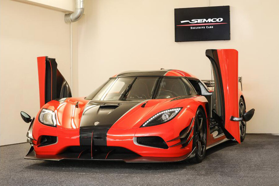 One of a Kind Koenigsegg Agera One of 1 for Sale
