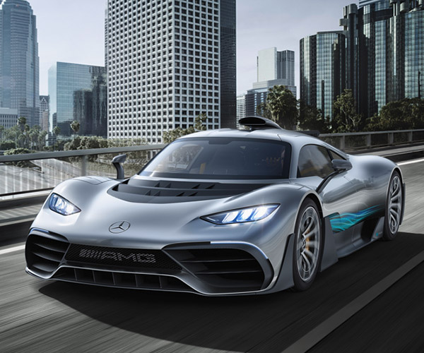 Mercedes-AMG Project ONE Concept Revealed