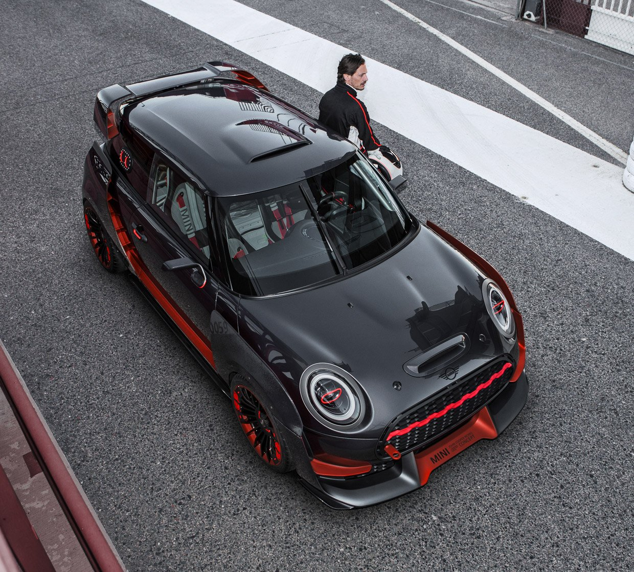 MINI John Cooper Works GP Concept is a MINI Badass
