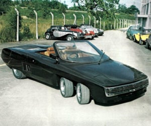 The Panther 6 Was a Crazy 6-Wheeled UK Sports Car