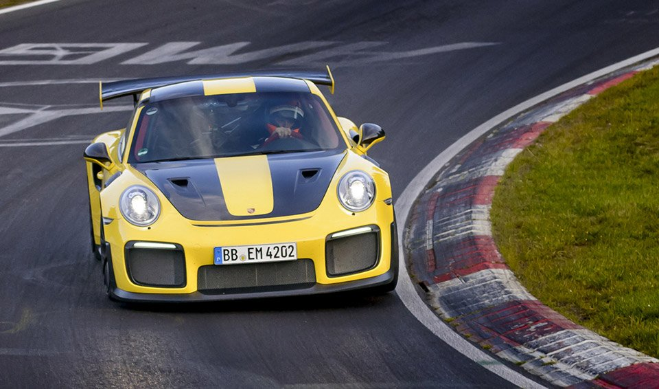Porsche 911 GT2 RS Breaks Street Legal Record at Nürburgring