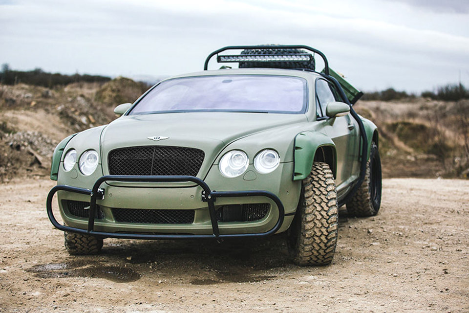Insane Rally Bentley Continental GT for Sale