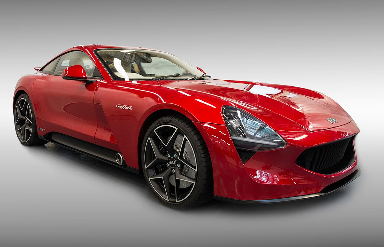 new 2018 tvr griffith can go 200 mph 95 octane. Black Bedroom Furniture Sets. Home Design Ideas