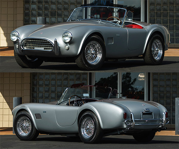 Want a Real Shelby Cobra, But Don't Know How to Drive Stick?