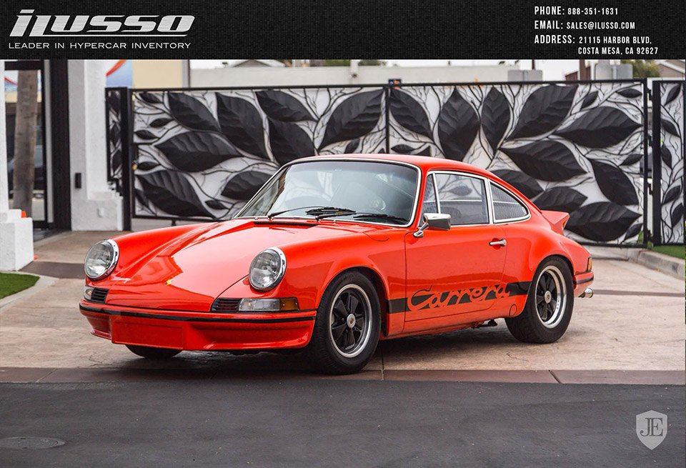 stunning 1973 porsche carrera rs lightweight for sale 95 octane. Black Bedroom Furniture Sets. Home Design Ideas