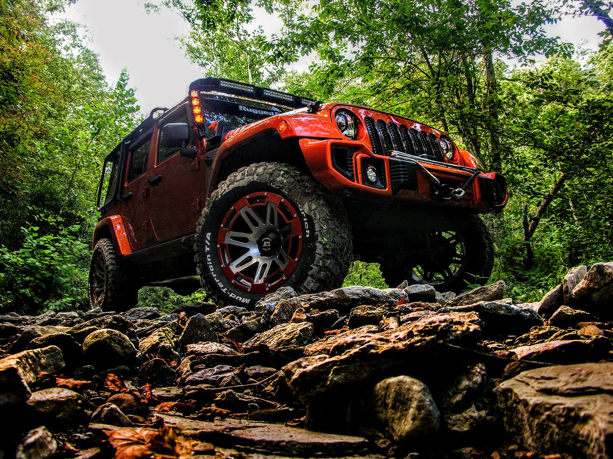 Rugged Ridge Custom Jeep Wrangler Review: Mud-covered Mango Mania