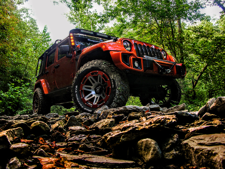 Jeep Tires Wranglers Off Roading All Terrain Mudding Street >> Rugged Ridge Custom Jeep Wrangler Review Mud Covered Mango Mania