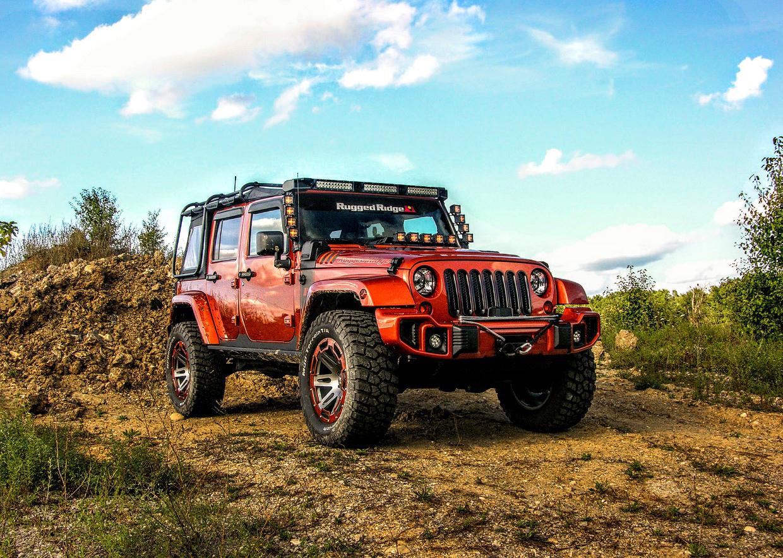 Rugged Ridge Custom Jeep Wrangler Review: Mud-covered Mango