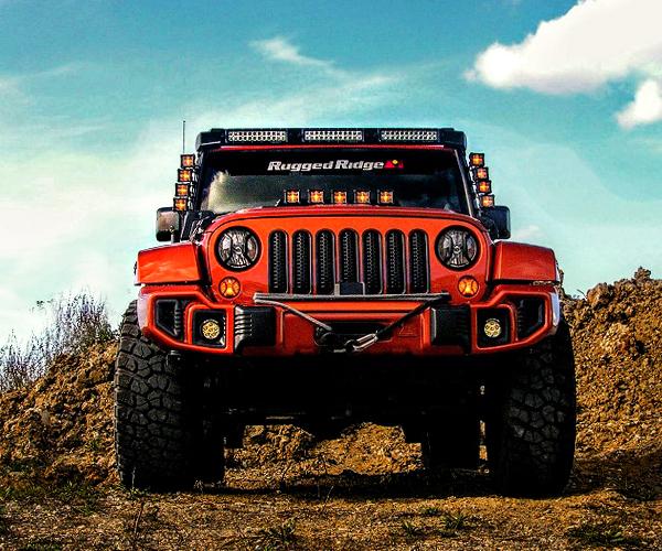 Rugged Ridge Custom Jeep Wrangler Review: Mud-covered Mango Mania