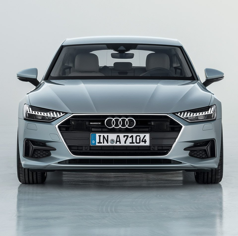 audi shows off new 2019 a7 sportback 95 octane. Black Bedroom Furniture Sets. Home Design Ideas