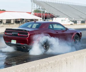 A Devilish Day at the Drag Strip with the Dodge Challenger SRT Demon