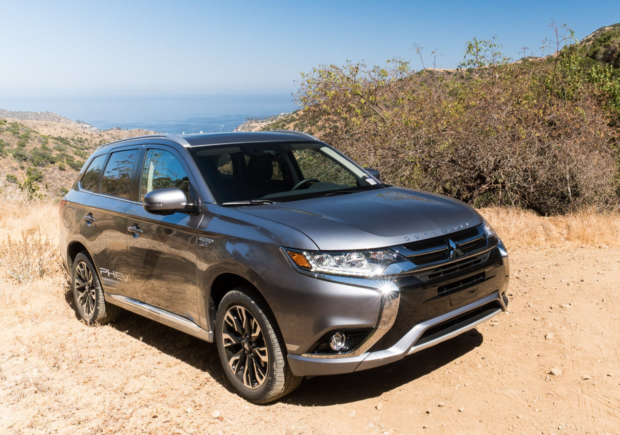 2018 mitsubishi outlander phev first drive ev quotelectric