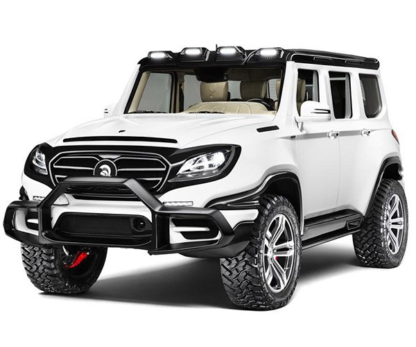 ARES X-RAID Reinvents the Mercedes G-Class SUV