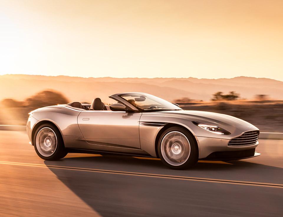 2018 Aston Martin DB11 Volante Drops Its Top