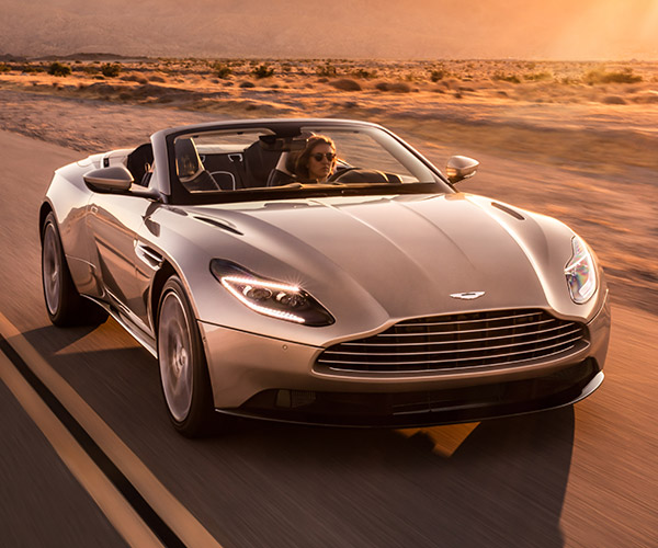 2018 Aston Martin DB11 Volante Drops Its Top