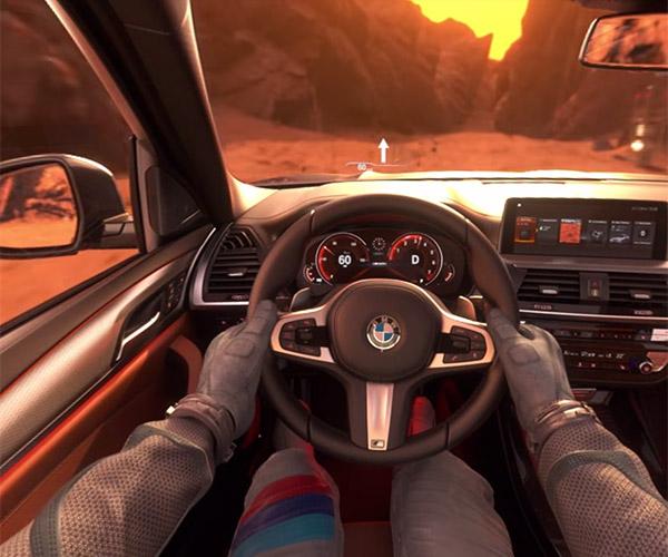 Drive the New BMW X3… on Mars
