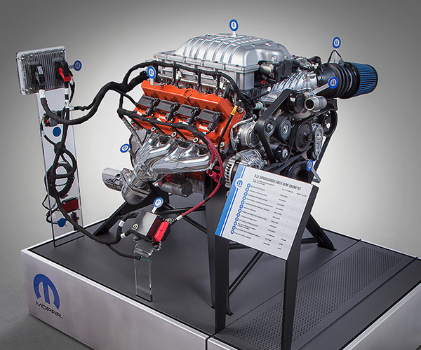 Mopar Lets Us Hellcat All the Things with the Hellcrate Engine