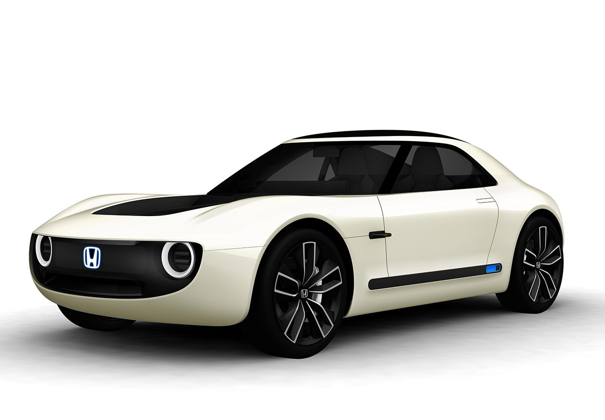 Honda Sports EV Concept Has Retro-Modern Appeal