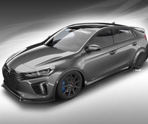 Hyundai HyperEconiq Ioniq Concept Heads to SEMA 2017