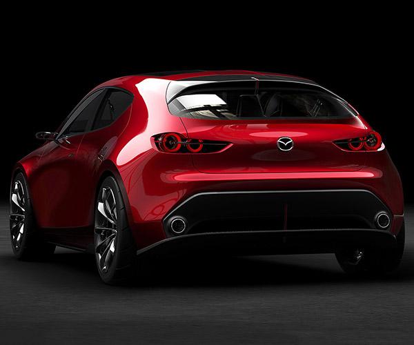 Mazda KAI Concept: Please Let the Next Mazda3 Look This Good
