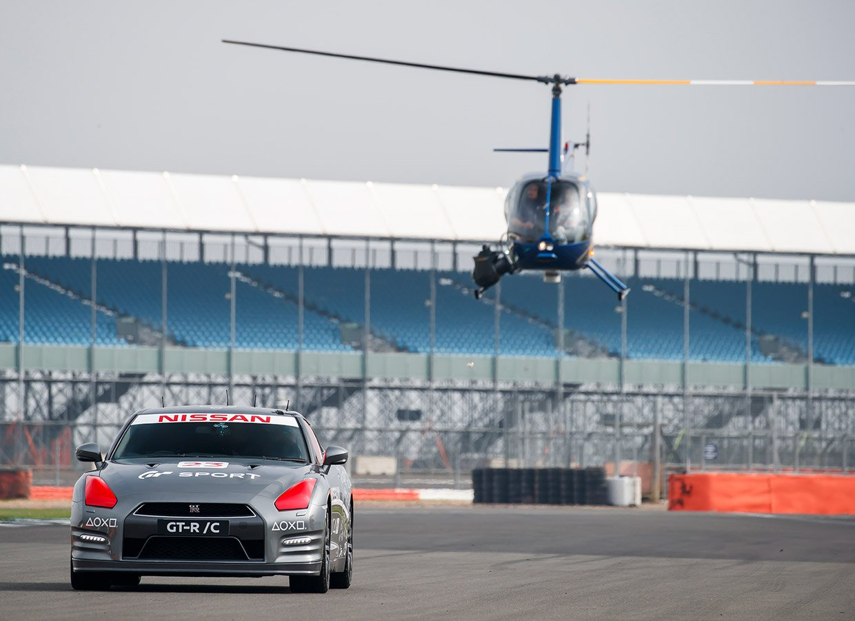 Remote-Controlled Nissan GT-R Hits 130 mph